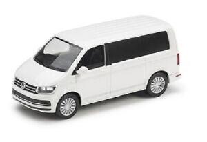 NEW GENUINE VW TRANSPORTER T6 MULTIVAN CARAVELLE 1:87 COLLECTORS MODEL