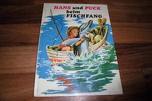 Hemma Verlag -- HANS und PUCK beim FISCHFANG // Bilderbuch von ca 1970er - Mühlacker, Deutschland - Hemma Verlag -- HANS und PUCK beim FISCHFANG // Bilderbuch von ca 1970er - Mühlacker, Deutschland