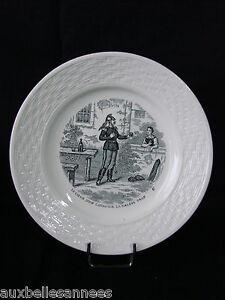Assiette A Dessert Parlante N° 6 / Faience Ceramique Theme Militaire ArmÉe Jlcr9qvh-07234024-505870993