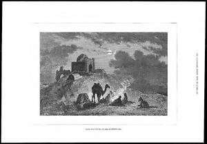1878-FINE-ART-PRINT-Scene-near-SEA-OF-ARAL-RUSSIAN-ASIA-Camel-Temple-165