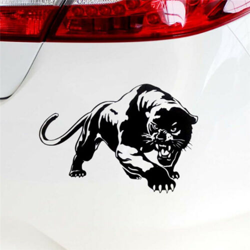 Fiery Wild Panther Hunting Car Body Decal Car Stickers Motorcycle Decorations JB