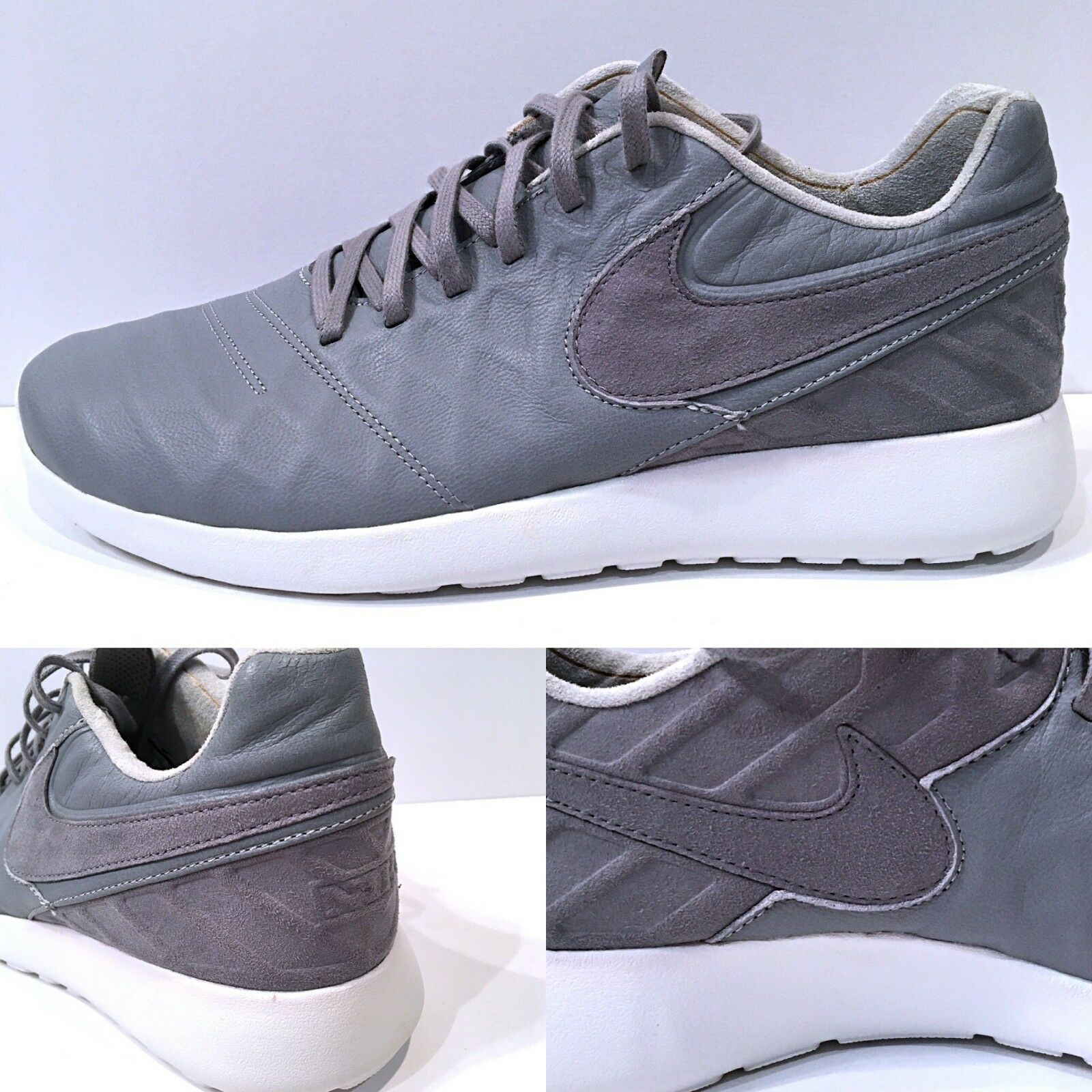 Nike Roshe Tiempo VI QS Wolf Grey White Men's Sneakers New Price reduction The latest discount shoes for men and women