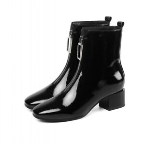 Women's Patent Leather Chelsea