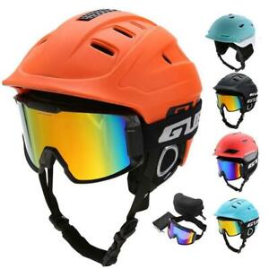 Ski-Snowboard-Helmet-With-Visor-Goggles-Sports-Safety-Breathable-Head-Protector
