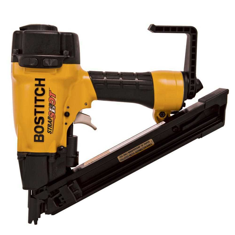 MCN150 tools-plus-outlet Bostitch MCN150 1-1/2 35 Deg. STRAPSHOT Metal Connector Nailer