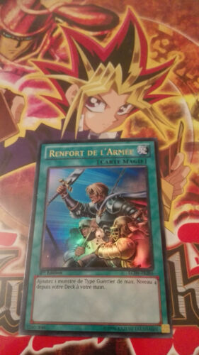 Renfort de l/'Armée LCJW-FR286 VF french reinforcement of the army Yu-Gi-Oh