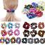 Lot-Shiny-Metallic-Hair-Scrunchies-Hair-Bobbles-Elastic-Scrunchy-Ponytail-Holder thumbnail 3