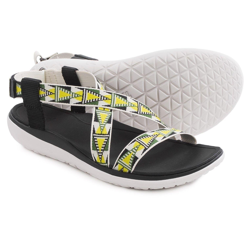 Nuevas chanclas flip flop Teva Teva Teva 9.5 Sandalia Zapatos Teva Terra-Float Livia Sport Negro  90 valor minorista  ofreciendo 100%