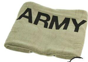 """ Army "" Bath Towel Shower Towel 150x75cm Beach Towel Olive Od"