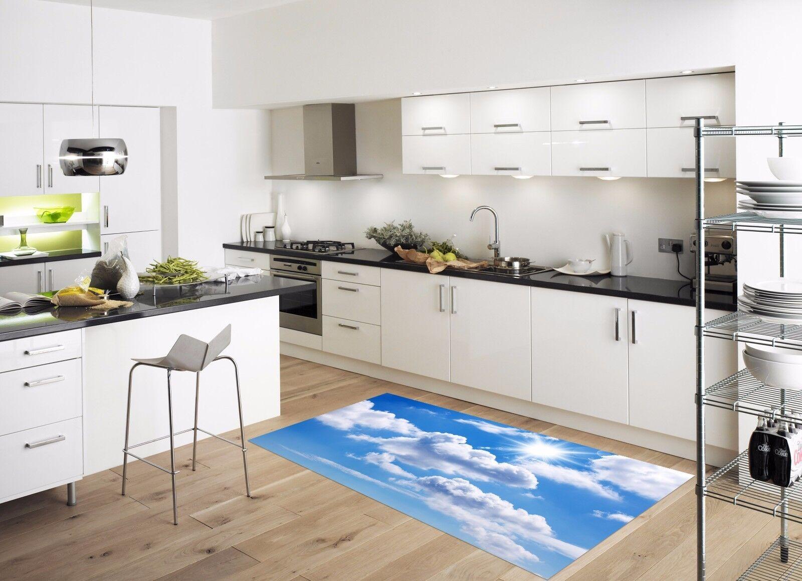 3D Sun Cloud Sky 733 Kitchen Mat Floor Murals Wall Print Wall Deco UK Carly