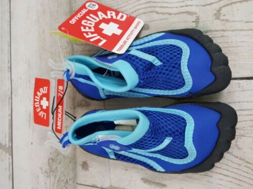Official Lifeguard Toddler Black And Blue Water Activity Shoes