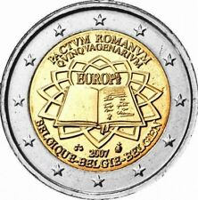Belgio 2€  2007  Trattato di Roma  ToR  FDC