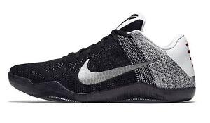 884a8145615 Nike Kobe 11 XI Last Emperor Black White Size 12. 822675-105 Jordan ...