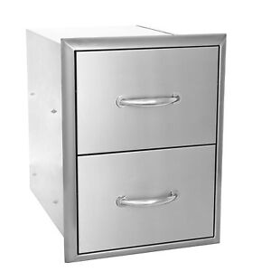 Blaze-16-034-Double-Access-Drawers-BLZ-DRW2-R-WE-WILL-BEAT-ANY-PRICE
