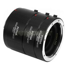 FOTGA Full Metal Auto Focus AF Macro Extension Tube Set for Kenko CANON EOS EF-S