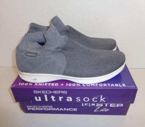 New Skechers Ladies Go Step Lite Ultrasock Stretch Slip On Trainers UK Sizes 2-8