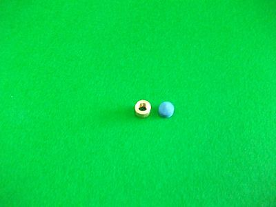 9.5mm Brass Ferrule for Snooker//Pool Cue /& Elkmaster Cue Tip