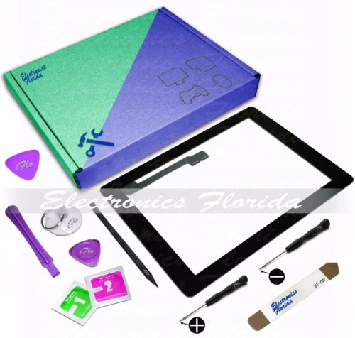 Touch Screen Glass Digitizer Replacement For Apple iPad 2//3//4// /& Air-Black//White