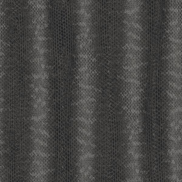 G67429 Natural Fx Black Silver Snake Skin Effect Galerie Wallpaper