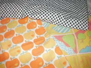 70 S Fabric Original Graziela Bettwäsche Herzen äpfel Look Lesen 6