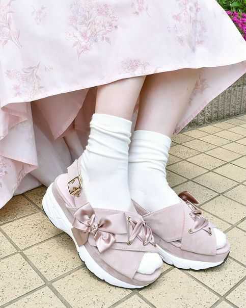 LIZ LISA - String Ribbon Sandals ( Japan kawaii lolita himekaji )
