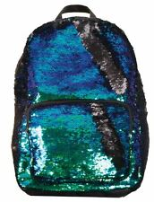 Magic Sequins! Reversible Sequins Fashion Backpack Mermaid Colors to Black
