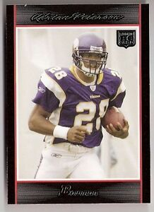 Details About Adrian Peterson Vikings 2007 Bowman Rookie Card 126 Nfl Oklahoma