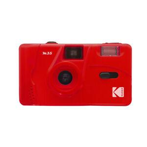 Kodak vintage con M35 35mm Fotocamera Pellicola riutilizzabile Rosso