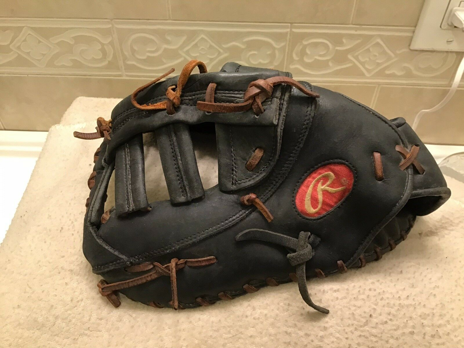 "Rawlings GGPSC21-10B 13"" Baseball Softball First Base Mitt Left Hand Throw"