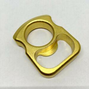 Solid-Brass-Pocket-EDC-Survival-Escape-Knuckle-Bottle-Opener-Outdoor-Keychain