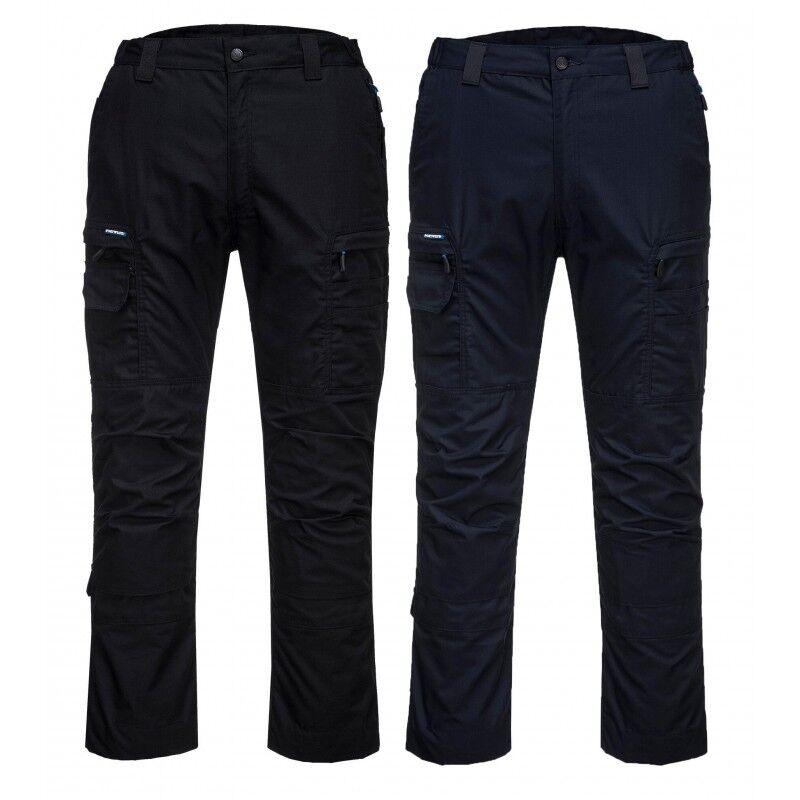 Portwest T802 Ripstop Pantalón Talle Alto Altamente Resistente Ropa de Trabajo