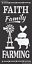 Joanie Stencil Faith Family Windmill Country Cow Pig Chicken Prim Farmhouse Sign