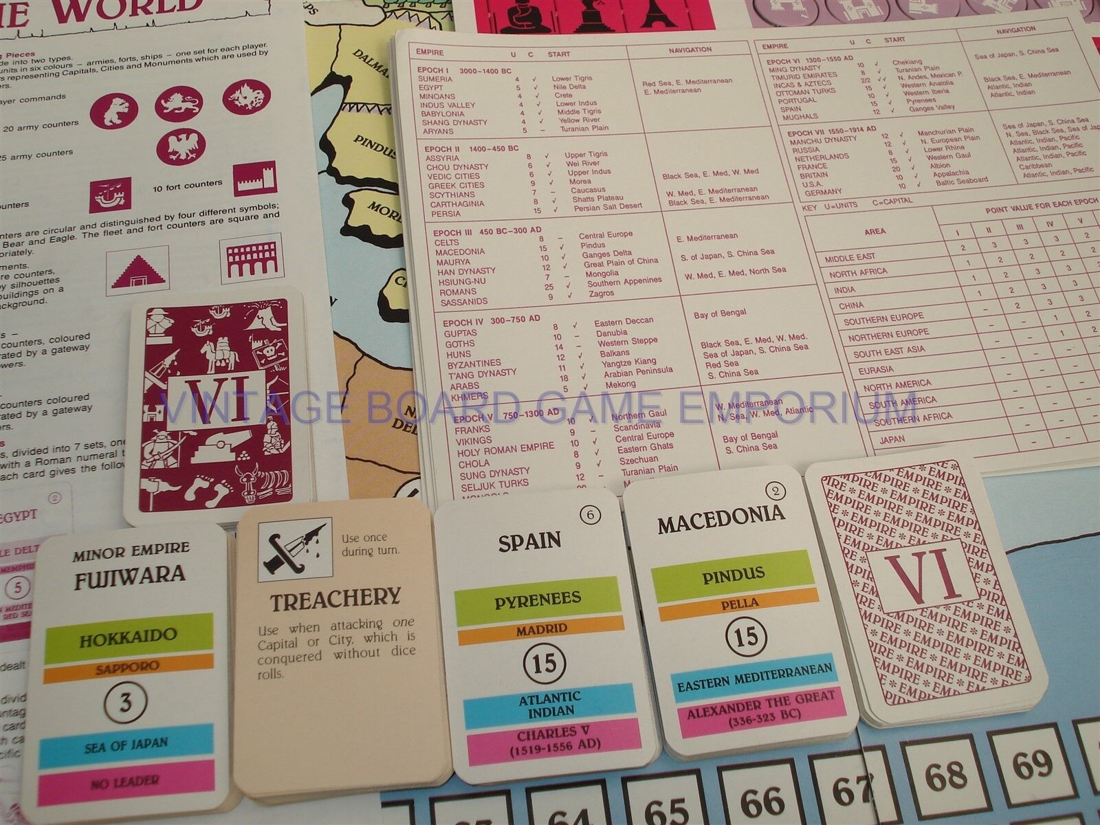 History of the du World Game-excellent état-Histoire du the monde-Gibsons 2f3132