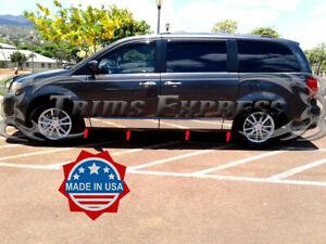 fits-2008-2019-Dodge-Grand-Caravan-Rocker-Panel-Trim-Body-Side-Molding-5-5-034-8Pc