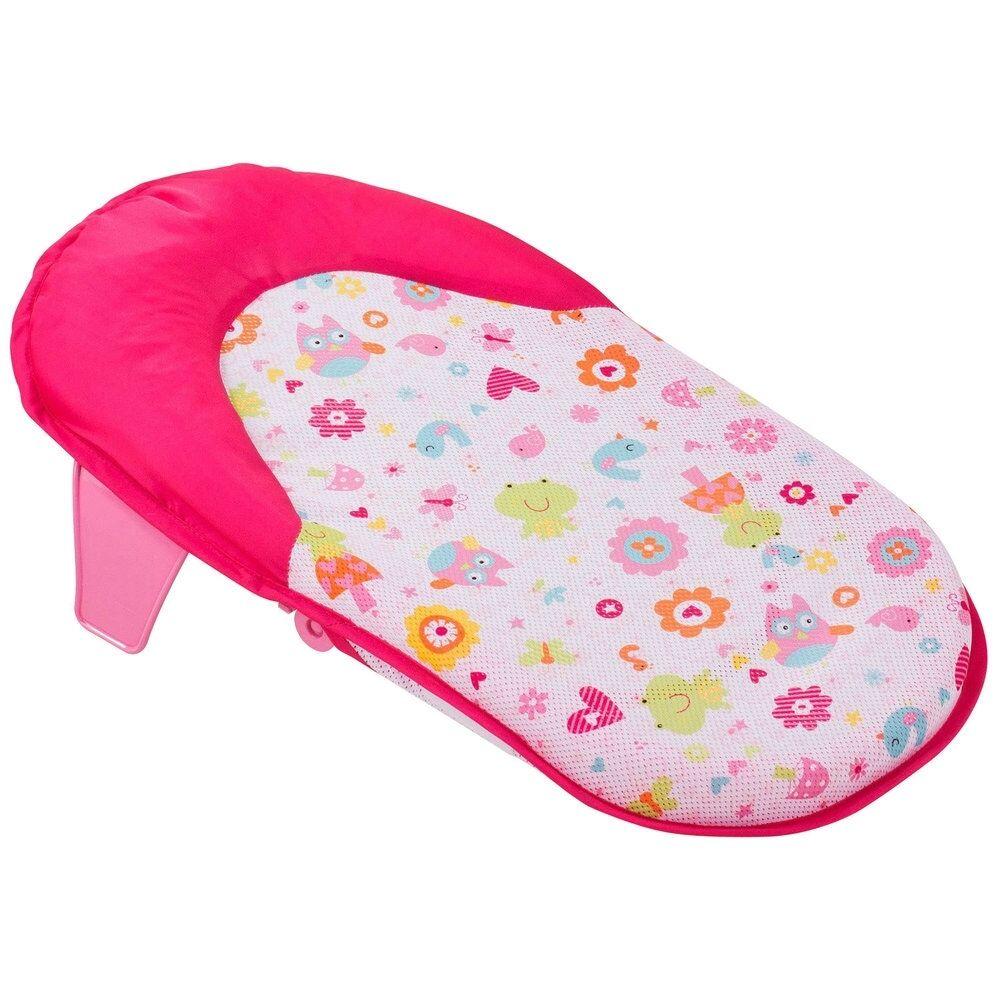 Babies R Us Pink Folding Bath Support Sling, Newborn Baby Bath ...