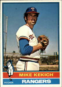 1976 O-Pee-Chee OPC #582 Mike Kekich Texas Rangers (Baseball Card Released by To