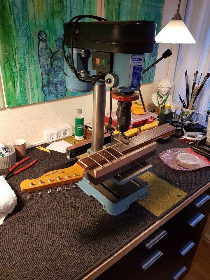 Guitar/Bas reparation incl. båndarbejde