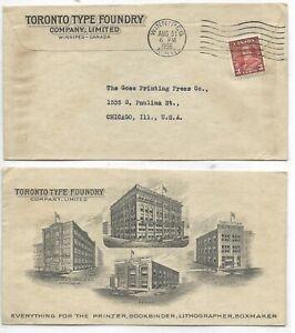 Advertising-Cover-TORONTO-TYPE-FOUNDRY-CO-LTD-Winnipeg-Manitoba-Circa-1935
