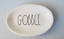 Rae-Dunn-Artisan-Collection-Gobble-Small-Oval-Plate-Platter-Dish-8-034-x-5-1-2-034-New thumbnail 1