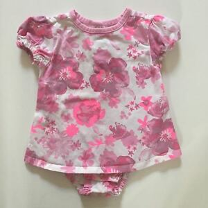 à Condition De John Lewis Hatley Baby Filles Rose Floral T-shirt Top Body - 3-6 Mois-afficher Le Titre D'origine
