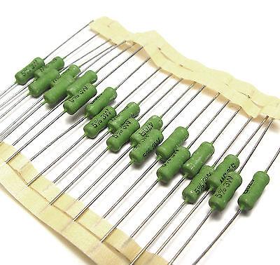 2 x 470ω 3 watts 5/% 470ohm résistance resistor 2pcs
