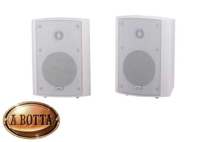 Altoparlanti 2 Casse Audio a 2 Vie Trevi HTS 9410 Bianco 100 Watt - Universali