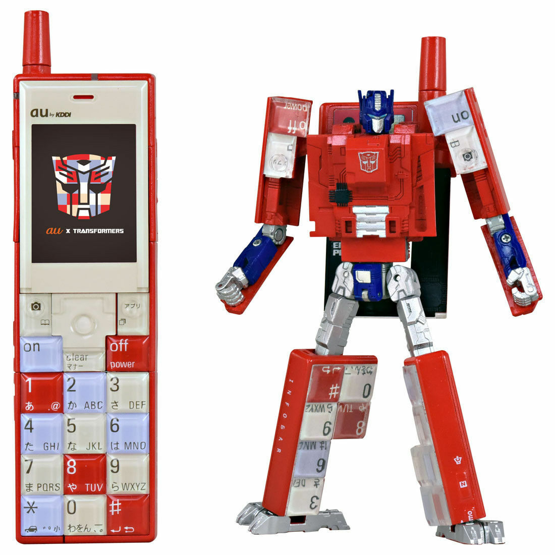 MISB in USA - Transformers Takara au Design Project Infobar Optimus Prime Convoy
