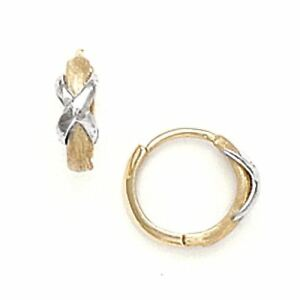 Image Is Loading Women Children 039 S 14k Solid Two Tone