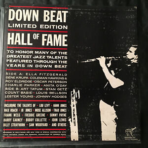 Down-Beat-039-s-Hall-Of-Fame-Volume-1-Limited-Edition-Verve-MG-V-8320-Jazz-1959