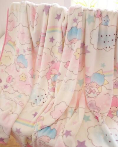 little twin stars cartoon warm Throws quilt fuzzy blanket 150x200cm new