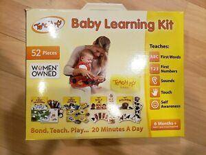 Teach My Baby Learning Kit 6 Months and Up Words Numbers Sounds Touch Play