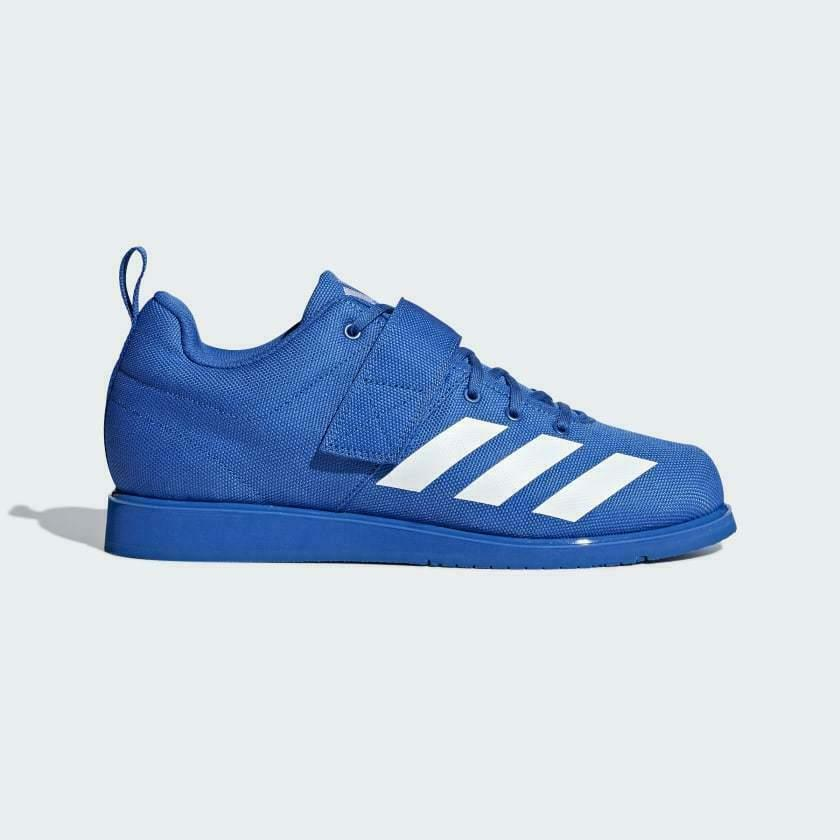 Adidas Weightlifting 4 blauw mannens schoenen --BC0345