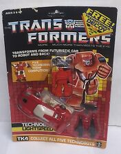 Transformers G1 Technobot LIGHTSPEED With Decoy Complete In Open Package