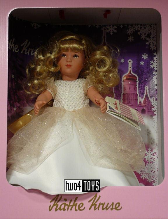 KATHE KRUSE SOPHIE AS A PRINCESS Play Doll - 41 cm   16.4in. NIB RETIrot